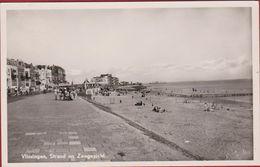 Vlissingen Strand En Zeegezicht Zeeland Zeldzaam 1955 (In Zeer Goede Staat) - Vlissingen
