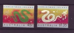 CHR 2001 Chinese New Year - Year Of The Snake  MNH - Territorio Antártico Australiano (AAT)