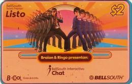 TARJETA TELEFONICA DE ECUADOR (BRAIAN Y RINGO) (760) - Ecuador