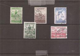 Belgique - Sports ( 827/831 Oblitérés) - Used Stamps