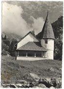 Liechtenstein - 1963 - 10 Flag - Kirchlein Am Steg. SAMINATAL - Furstentum - Viaggiata Da Triesenberg Per Wangen, Suisse - Liechtenstein