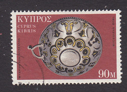 Cyprus, Scott #361, Used, Cypriot Art, Issued 1971 - Oblitérés