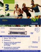 TARJETA TELEFONICA DE ECUADOR (MOVISTAR) (761) - Ecuador
