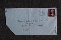 Lettre De HONG KONG à FRANCE - Hong Kong (...-1997)