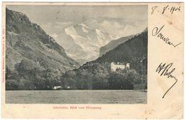 SVIZZERA - SUISSE - HELVETIA - 1904 - 10c + Cancel Hotel Jungfrau - Bern - Interlaken, Blick Vom Höhenweg - Viaggiata Da - BE Berne