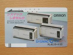 Japon Japan Free Front Bar, Balken Phonecard - 110-5708 / Omron - Japan