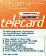 TARJETA TELEFONICA DE PARAGUAY (PREPAGO). (754) - Paraguay