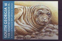 GEO 2004, Sea Mammal S-a From Bookle  MNH - Georgias Del Sur (Islas)