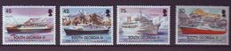 GEO 2004, Merchant Ships 4v   MNH - Georgias Del Sur (Islas)