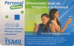 TARJETA TELEFONICA DE PARAGUAY (PREPAGO). (750) - Paraguay