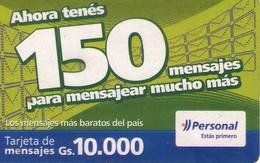 TARJETA TELEFONICA DE PARAGUAY (PREPAGO). (755) - Paraguay