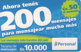 TARJETA TELEFONICA DE PARAGUAY (PREPAGO). (756) - Paraguay