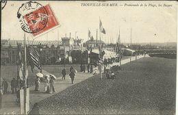 TROUVILLE -- Promenade De La Plage, Les Bazars                              -- ND 45 - Trouville