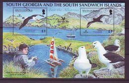 GEO 2006, Save The Albatross S/s  MNH - Georgias Del Sur (Islas)