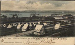 Porto Rico Vista Del Puerto De San Juan 1904 USED Postcard/Cover Jrf - Postkaarten