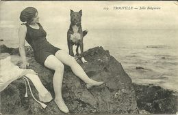 TROUVILLE -- Jolie Baigneuse                              -- ? 119 - Trouville