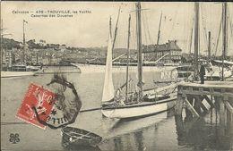 TROUVILLE --  Les Yachts, Casernes Des Douanes                       -- MTIL 439 - Trouville