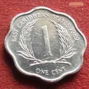 East Caribbean States 1 Cent 1989 KM# 10  Caribbean Caraibas Caraibes Orientales - Caribe Oriental (Estados Del)