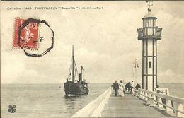 """TROUVILLE --  Le """"Deauville""""rentrant Au Port                       -- MTIL 446 - Trouville"""