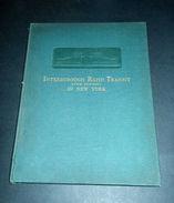 Ferrovie Interborough Rapid Transit (The Subway) In New York - 1^ Ed. 1904 RARO - Unclassified