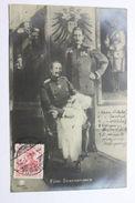 Foto Cartolina Re Guglielmo II E Guglielmo Di Prussia Nipote 3 Generazioni 1909 - Foto