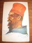 Cartolina Militaria Copricapo Dupuis Steinbach 1915 - Reggimenti