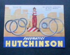 Brochure Moto-Auto - Pneumatici Hutchinson - 1953 - Vieux Papiers