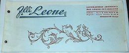 Catalogo Ebanisteria Intarso - Fratelli Leone ( Sorrento ) - 1920 Ca - Livres, BD, Revues