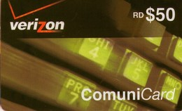 TARJETA TELEFONICA  DE LA REPUBLICA DOMINICANA (PREPAGO). (740) - Dominicana