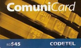 TARJETA TELEFONICA  DE LA REPUBLICA DOMINICANA (PREPAGO). (741) - Dominicana