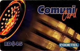TARJETA TELEFONICA  DE LA REPUBLICA DOMINICANA (PREPAGO). (747) - Dominicana