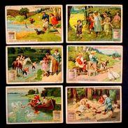 Figurine LIEBIG - Divertimenti D'estate - Rif.  N° 991 - Liebig