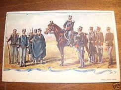 Cartolina Militaria - Granatieri Di Sardegna - 1903 Ca. - Regiments
