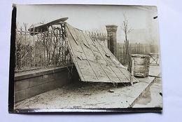 Fotografia D'epoca - Alluvione Del 1910 A Parigi - Alfortville - Photos