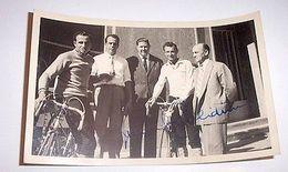 Foto Autografo Cicilismo Ercole Baldini Anni '50 - Autographes