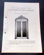 Brochure Cucina - Chieregatti - Armadio Scaldapiatti - Vecchi Documenti
