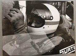 Automobilismo Fotografia - John Surtees 7 Su Surtees Ford TS 9 - 1971 Formula 1 - Fotografia