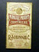 Cucina - Manuale Pratico Cantiniere - Vini Stabilimenti Enologici Subinaghi 1913 - Books, Magazines, Comics