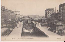 457 - Paris - Vue Sur Le Canal Saint-Martin - ND Phot - Arrondissement: 10