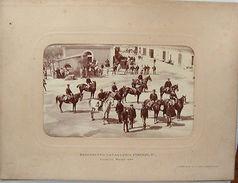 Foto Epoca Militaria Reggimento Cavalleria Firenze 1888 - Fotografia