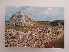 SPAIN ESPAÑA  ESPANA MENORCA CIUDADELA PYRAMIDS ARCHITECTURE HISTORY POSTCARD Z1 - Postcards
