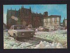 GUARDA Classic Cars AUDI FIAT FORD  PORTUGAL 1970s BEIRA ALTA Postcard  Z1 - Postcards