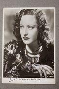 Foto Cartolina Autografo Attrice Teatro Cinema Germana Paolieri Anni '30 - Autographes