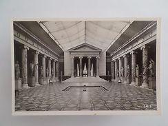 DENMARK COPENHAGEN CARLSBERG GLYPTOTEK SCULPTURES ARCHITECTURE 1950s POSTCARD Z1 - Postcards