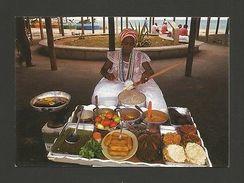 Postcard Black WOMAN Street Seller SALVADOR  BRASIL BRAZIL 1970s Postcard Z1 Cc - Postcards