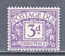 GREAT  BRITAIN  J 49   **    Wmk.  308  G.S. 165 - Postage Due