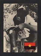 ANGOLA 1970years POSTCARD ANTI COLONIAL PROPAGANDA PORTUGAL COLONIAL WAR Z1 - Postcards