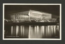 STOCKHOLM REAL PHOTO POSTCARD STAMP Year 1959 SWEDEN SEVERIGE Z1 - Postcards