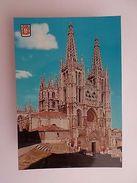 SPAIN ESPAÑA ESPANA ESPAGNE BURGOS CATHERAL 1960 YEARS POSTCARD Z1 - Postcards