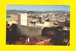 PC AFRICA MOROCCO TANGER KASBAH & BEACH 50s MAROC - Postcards